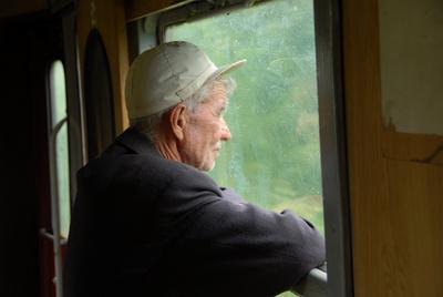 Ho 80 anni, e vivo sui treni