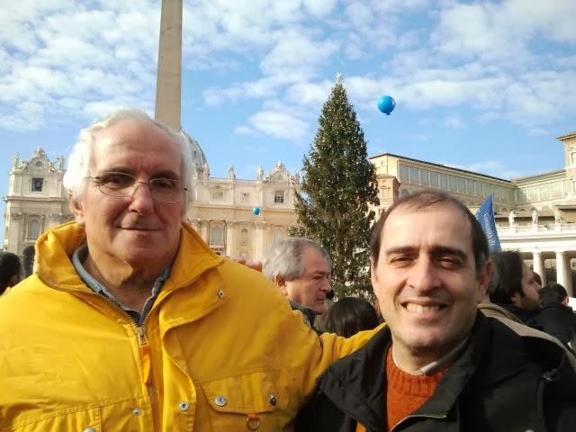 1 gennaio 2014. Gli anziani degli istituti in marcia con la Comunità di Sant'Egidio da Papa Francesco: ecco i volti della Pace