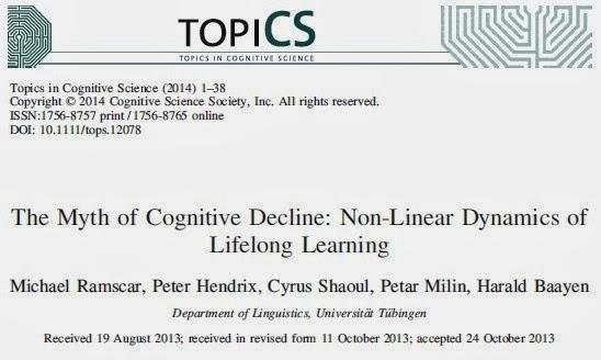 Il mito del declino cognitivo negli anziani. Cervello più lento per il peso dell'esperienza