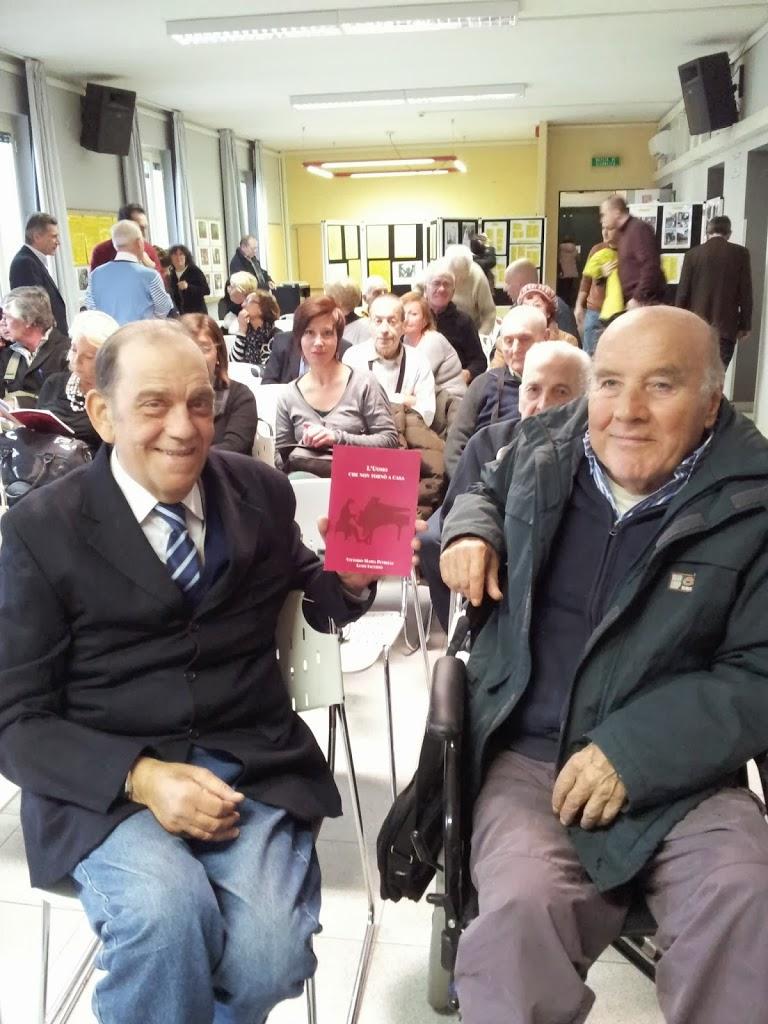 """Autori non si nasce..si diventa  anche da anziani!!  Storia di Vittorio e Luigi, autori del romanzo """"L'uomo che non tornò a casa"""""""