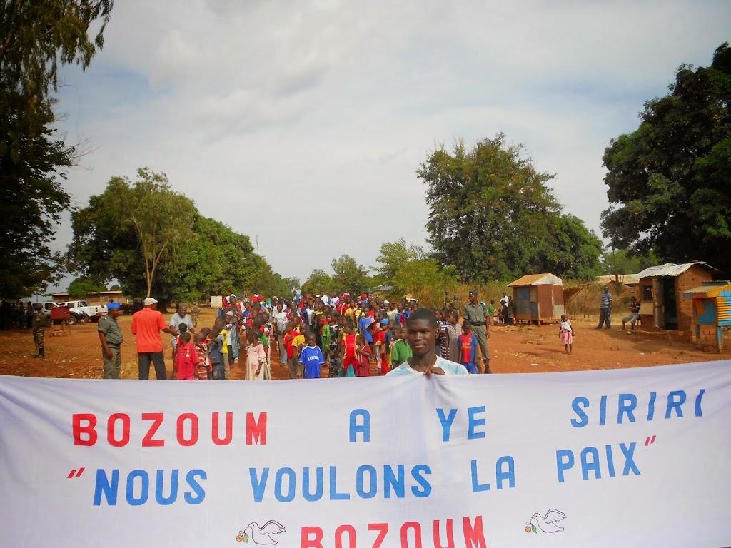 Notizie dalla Repubblica  Centrafricana:  la visita di Padre Aurelio Gazzera agli anziani della Comunità di Sant'Egidio