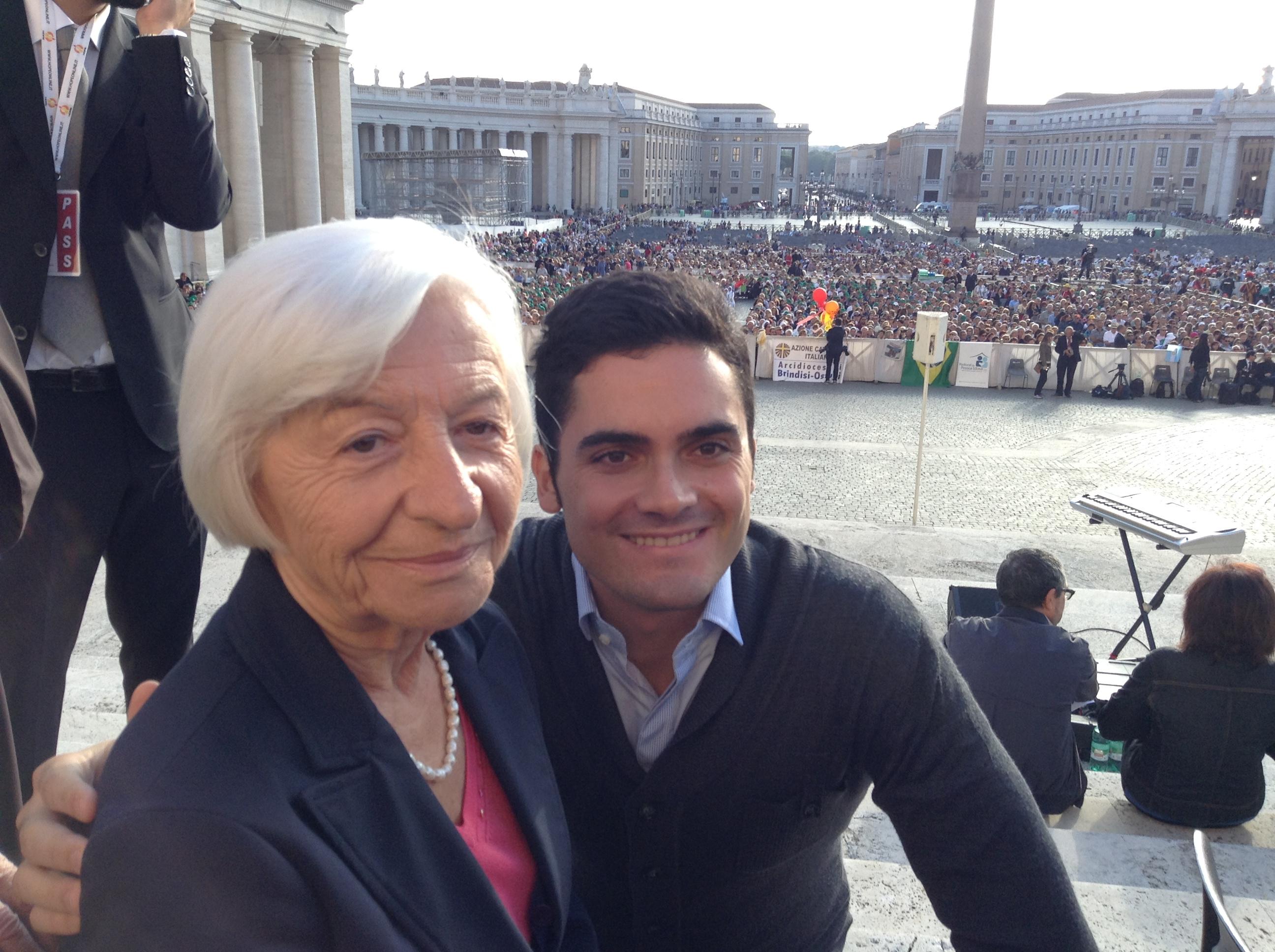 Giornata Internazionale dell'Anziano: l'intervento di Antonia  Canini all'incontro  di Papa Francesco con gli anziani