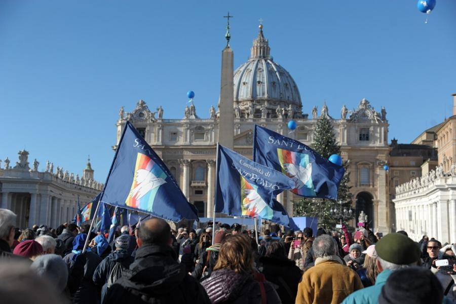 Pace in tutte le terre: gli anziani della periferia romana marciano per la pace
