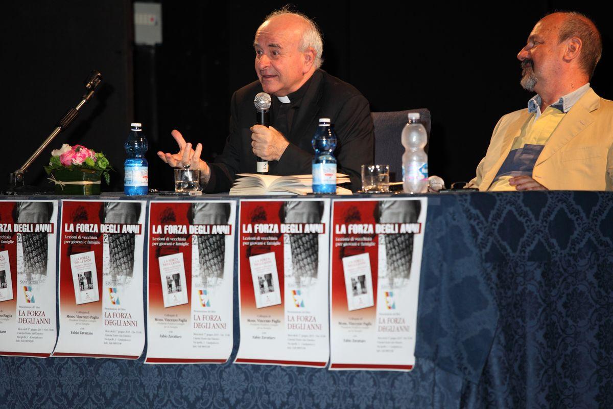 Anziano è bello: conversazione con Mons. Vincenzo Paglia e Fabio Zavattaro