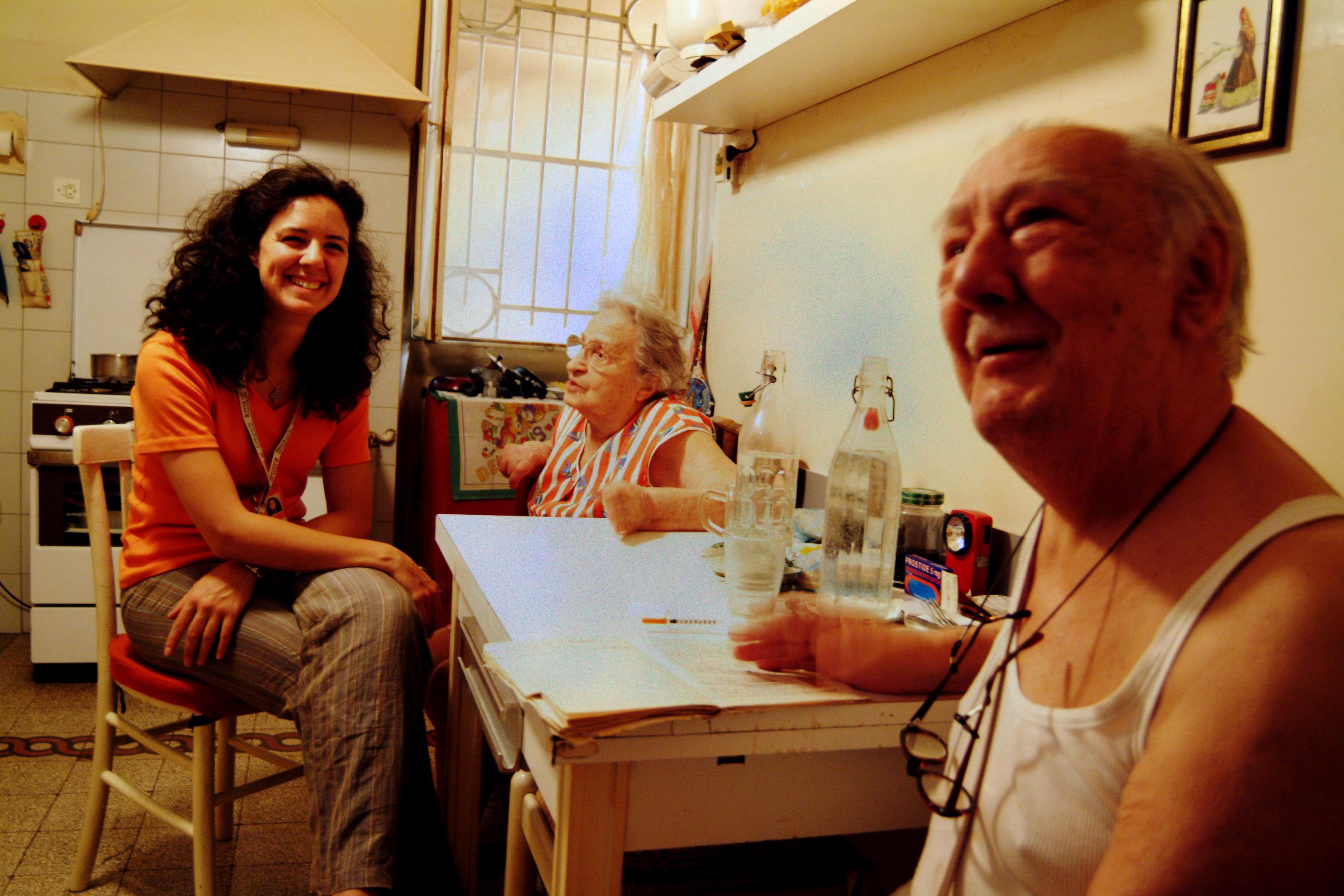Chiara Carlizzi con i signori Sabatini (2)