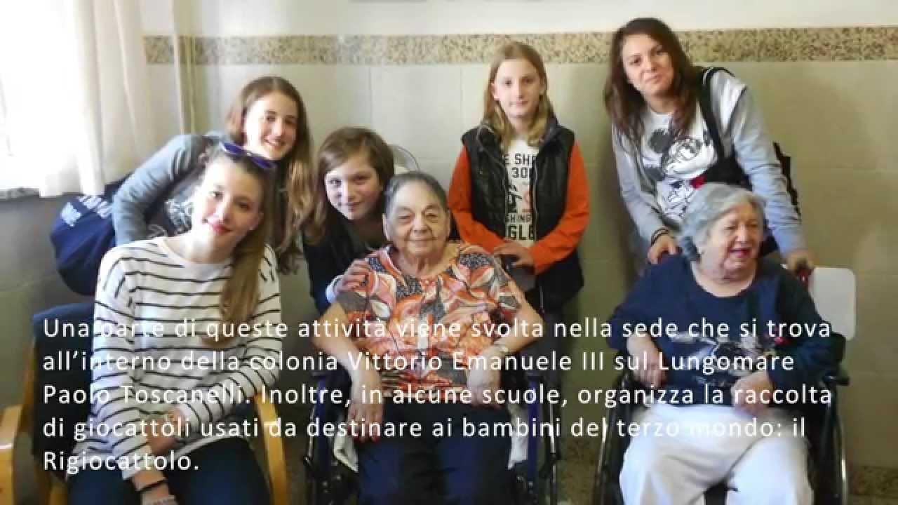 """Anziani e giovani a Ostia con la Comunità di Sant'Egidio:Il Progetto """"Giovani Solidali"""""""