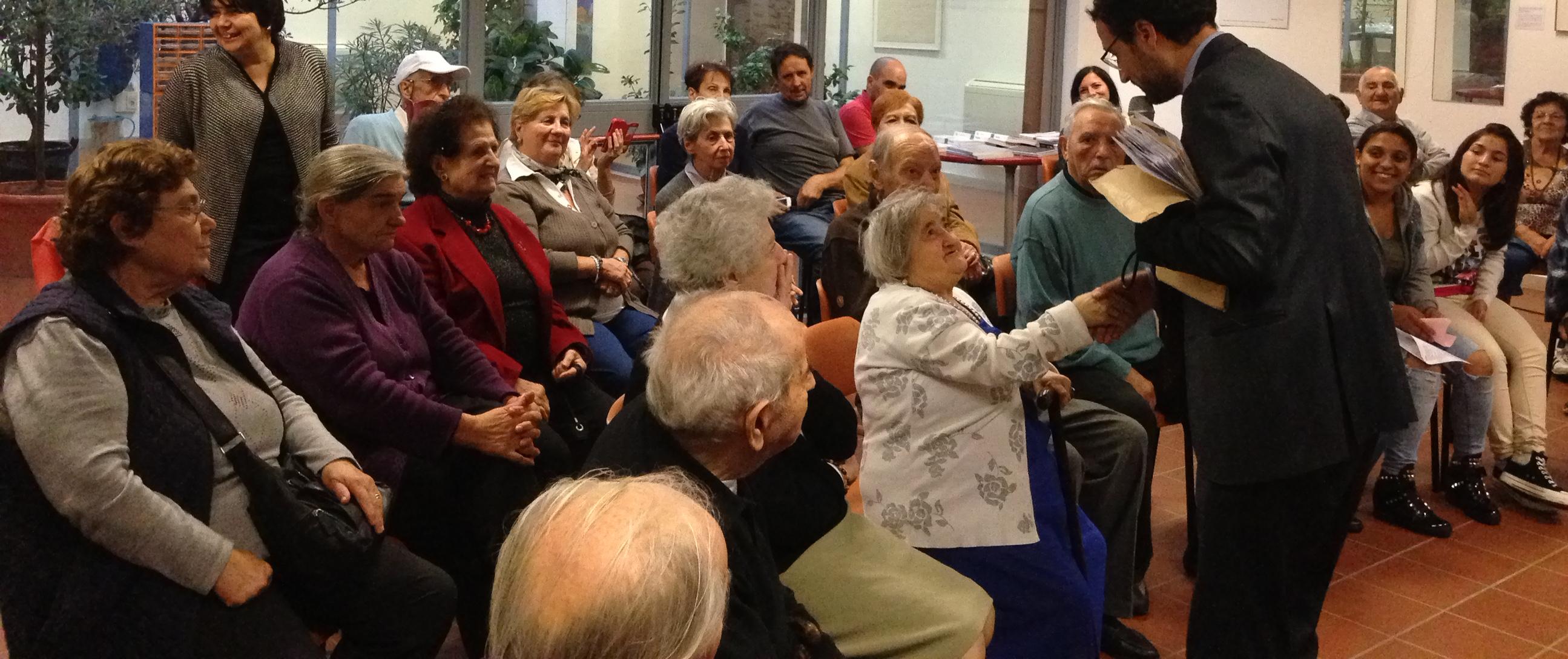 A Tor Bellamonaca si festeggiano nonni e nipoti
