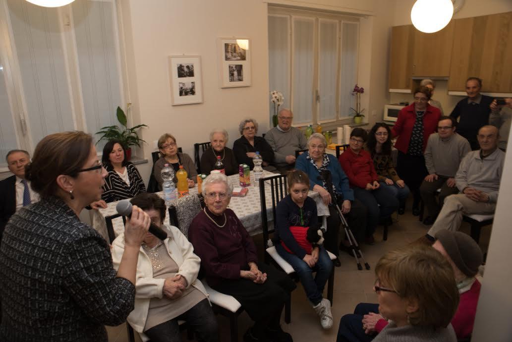 Novara: la nuova vita di casa Scalfaro da oggi dedicata agli anziani Simeone ed Anna