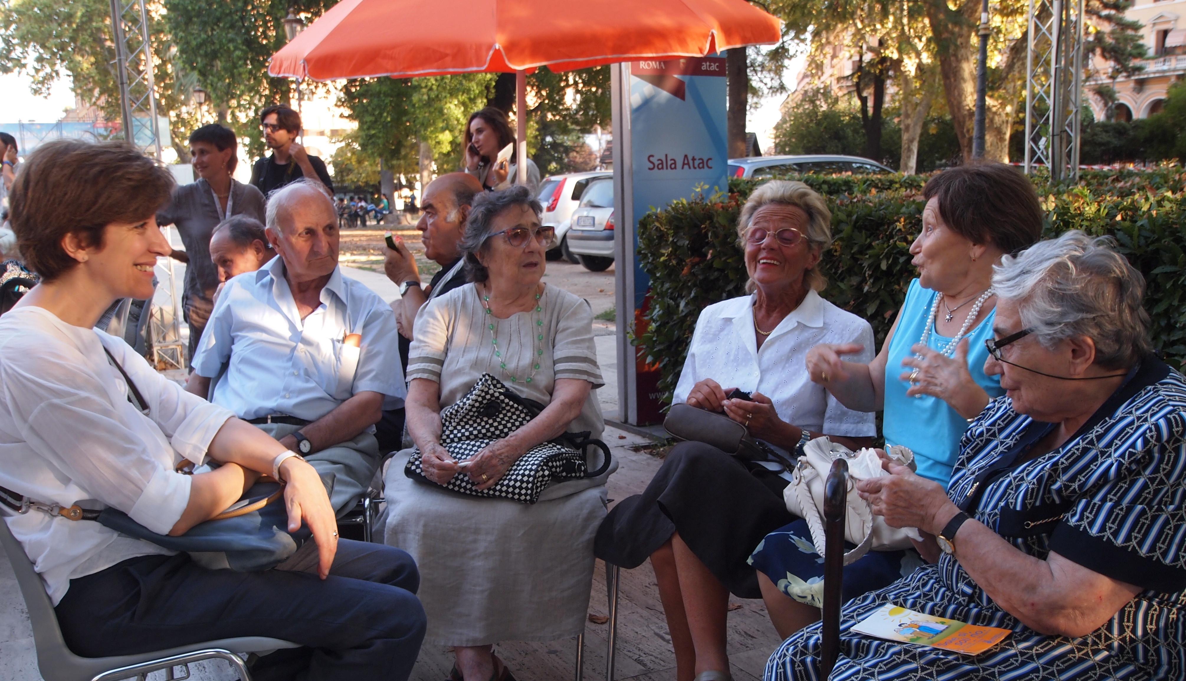 Anziani e isolamento sociale: un servizio di Arte Journal, tv franco tedesca