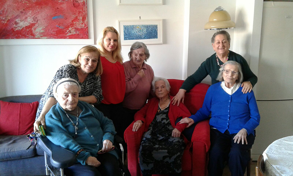 Silver cohousing: Assuntina ha quasi 100 anni e vive con le sue amiche, la più giovane ne ha 80