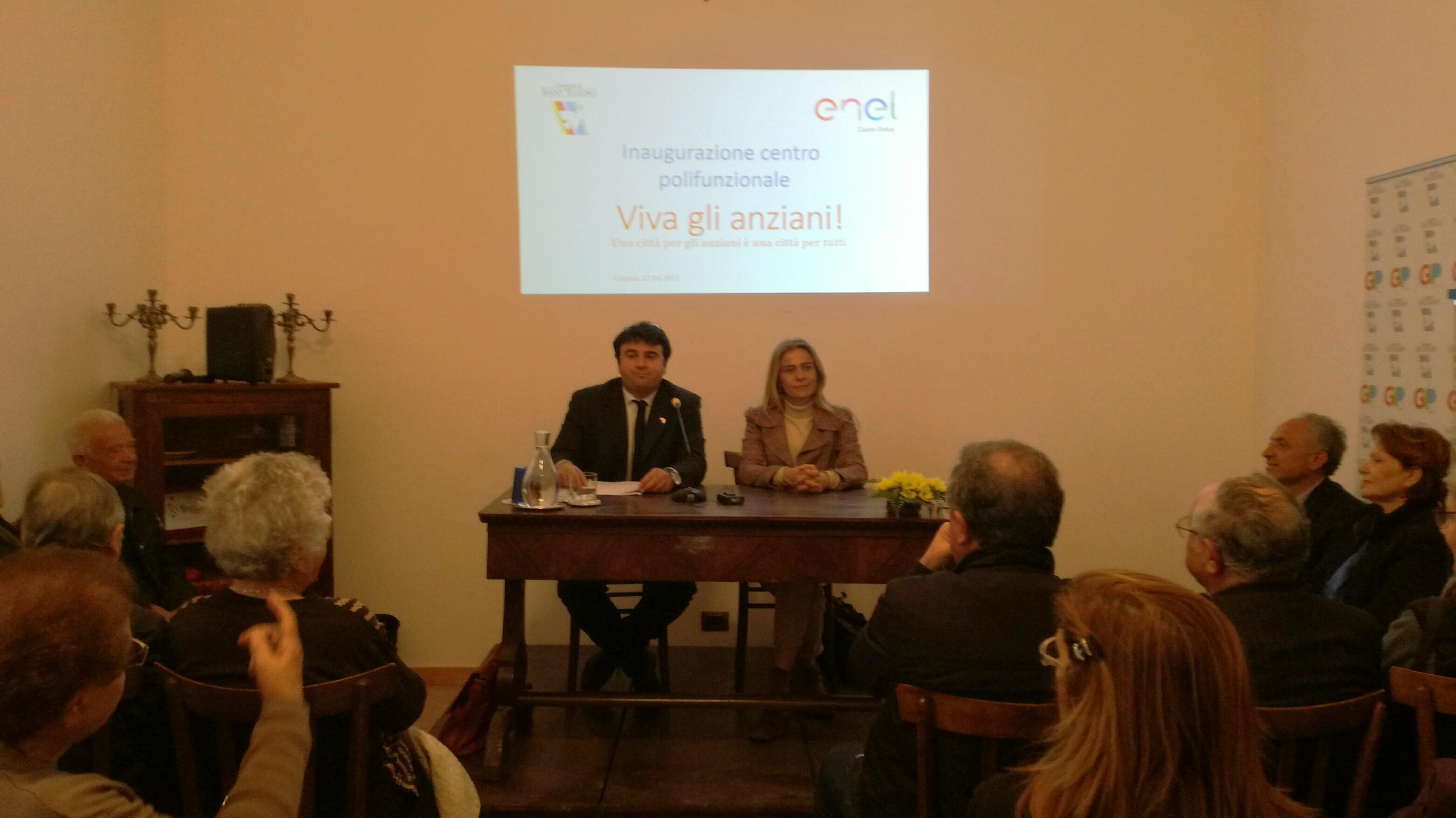 Rassegna stampa su CATANIA:LIVESICILIA:IT la news:  Sant'Egidio ed Enel inaugurano un Centro per gli anziani