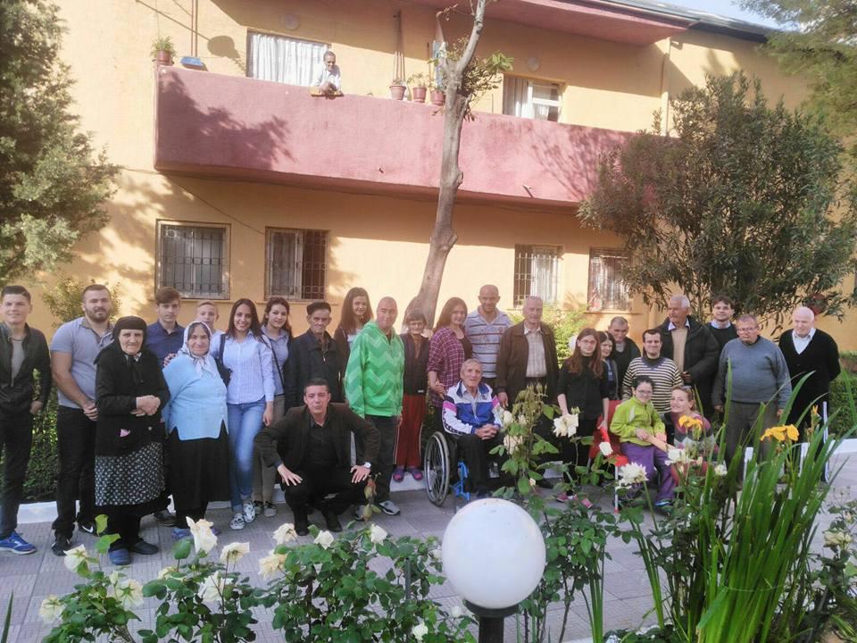 Anziani e giovani insieme a Scutari per la giornata della solidarietà fra le generazioni