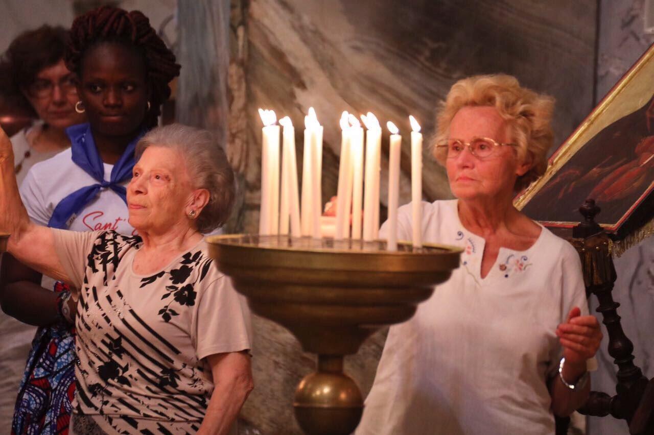 Anziani e Preghiera