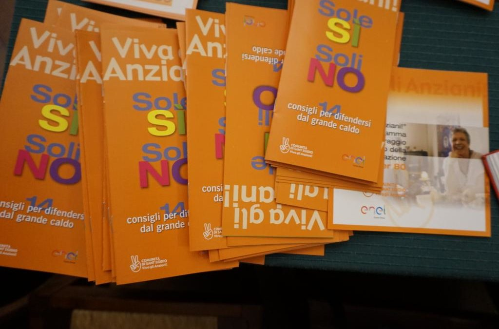 Estate e anziani: appello della Comunità di Sant'Egidio contro l'isolamento