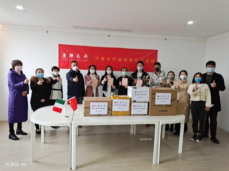 Coronavirus: dalla Cina aiuti ai nostri anziani
