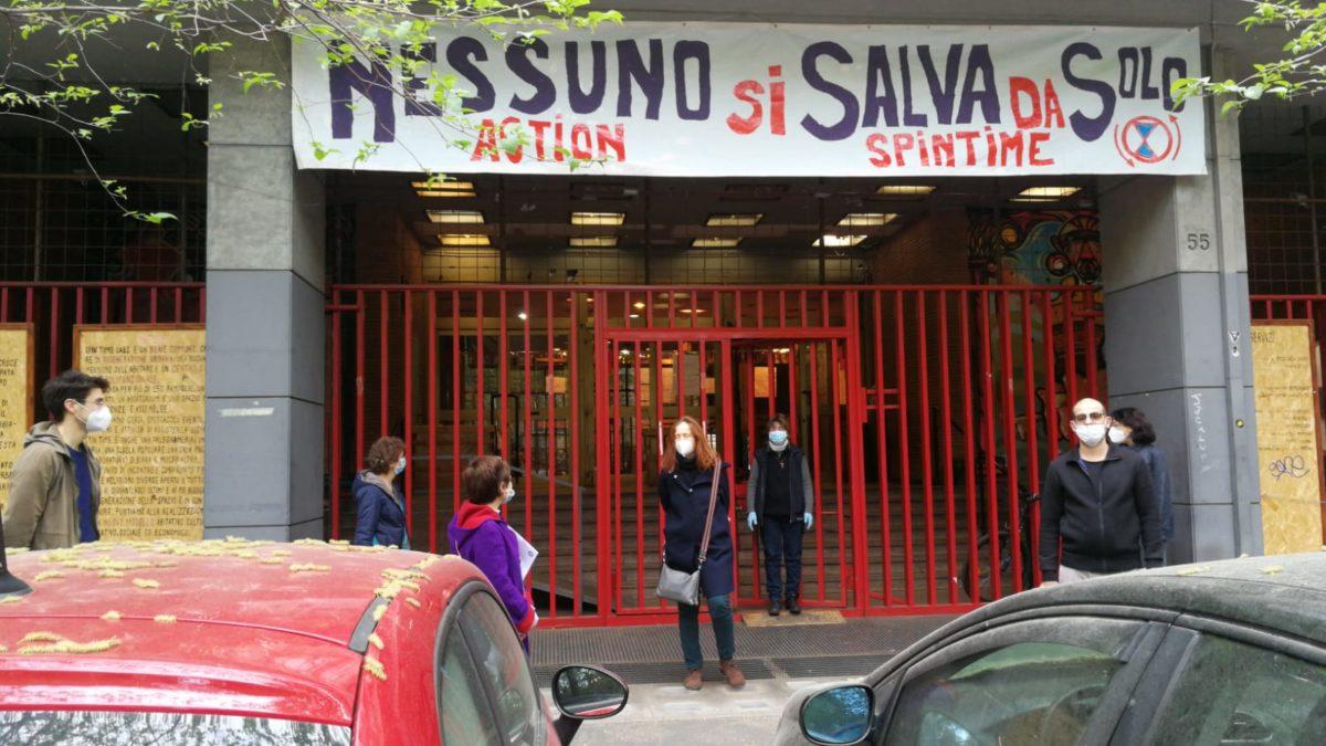 Pasqua di solidarietà all'Esquilino: nessuno si salva da solo