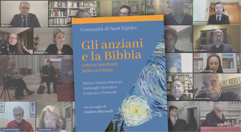 """""""Gli anziani e la Bibbia"""". 17 maggio, evento online della Comunità di Sant'Egidio in Umbria"""